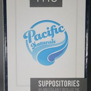 Buy THC Suppository by Pacific Gas Co here