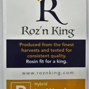 Buy Ice Wreck Rosin (Roz'n King) here