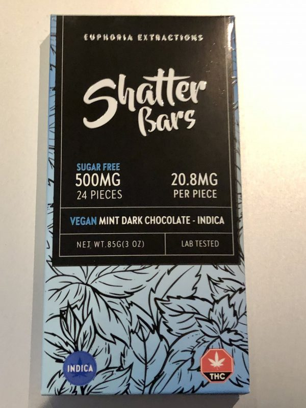 Mint Vegan Shatter Bars